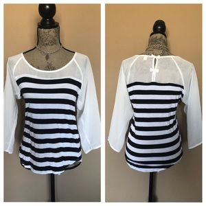 Adorable Stripped Top